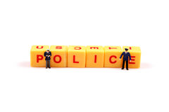 Police power Stock Photos