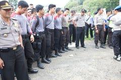 Police preparation Royalty Free Stock Photo