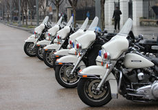 Police presence at the White House Stock Photography