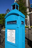 Police Public Call Box in London Stock Images