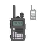 Police radio Stock Photo