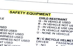 Police report Royalty Free Stock Photo