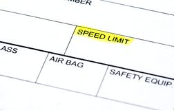 Police report Stock Images