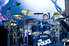 The Police Reunion Tour Stock Photo