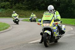 Police Riders Stock Photo