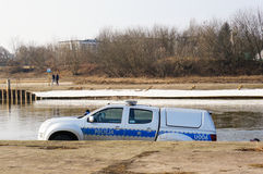 Police and river Stock Images