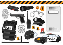 Police. Safety concept Stock Image