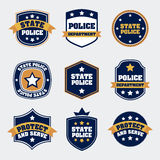 Police seals Royalty Free Stock Photos