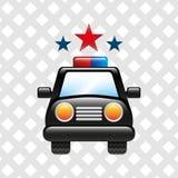 Police service design Stock Photo