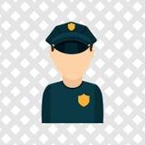 Police service design Stock Image