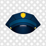Police service design Stock Images