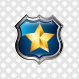 Police service design Stock Photos
