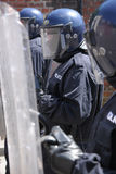 Police shields Royalty Free Stock Photo