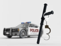 Police special equipment Royalty Free Stock Images