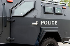 Police special vehicle Royalty Free Stock Photo