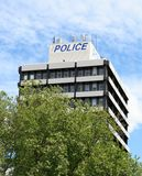Police Station. Building, New Zealand royalty free stock photography