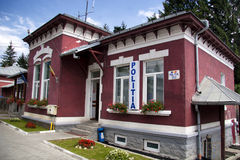 Police station. The police station from Busteni stock photography