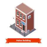 Police station building Stock Photos