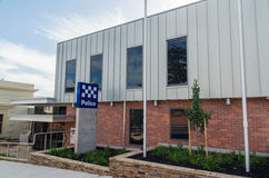 Police station in Castlemaine Royalty Free Stock Image