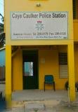 Police Station at Caye Caulker, Belize Stock Photos