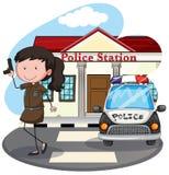Police station Royalty Free Stock Photo