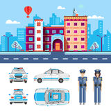 POLICE STATION 1 Royalty Free Stock Photos