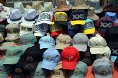 Baseball caps  Stock Photography