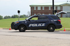 Police SUV Stock Photo