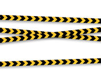 Police tape Royalty Free Stock Photography