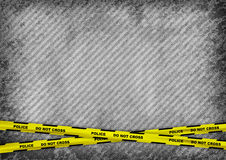Police tape Stock Photo