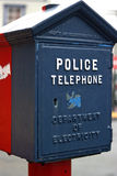 Police telephone Stock Image