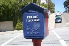 Police Telephone Royalty Free Stock Photos