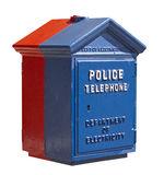 Police Telephone Box Stock Photos