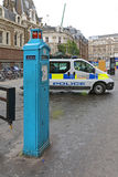 Police Telephone Post Royalty Free Stock Photos