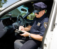 Police - Time for a Ticket Stock Photography
