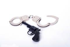 Police tools Stock Photo