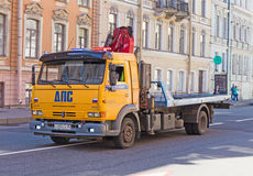 Police tow truck Stock Images