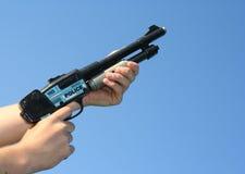 Police toy gun Stock Photos