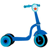 Police toy scooter Royalty Free Stock Photos