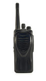 Police transceiver Stock Images