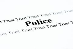 Police Trust Royalty Free Stock Photos