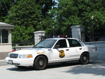 Police - USSS Car, Washington DC Royalty Free Stock Photography