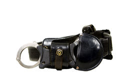 Police utility belt Stock Images