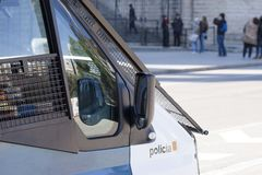 Police van Stock Photography