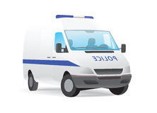 Police van Stock Photo