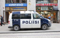 Police Van Royalty Free Stock Photography