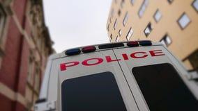 Police Van stock photography