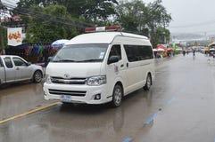 Police van Thailand Royalty Free Stock Photo