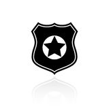 Police vector symbol Royalty Free Stock Photo