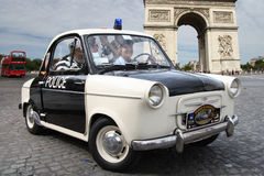 Police Vespa Royalty Free Stock Image